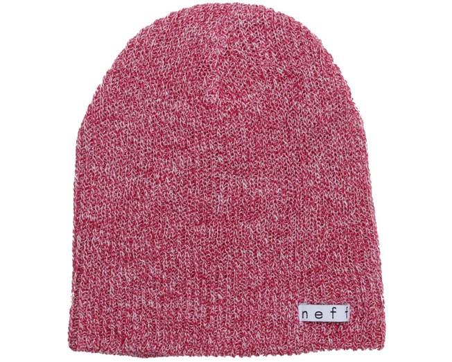 Daily Heather White/Pink Beanie - Neff