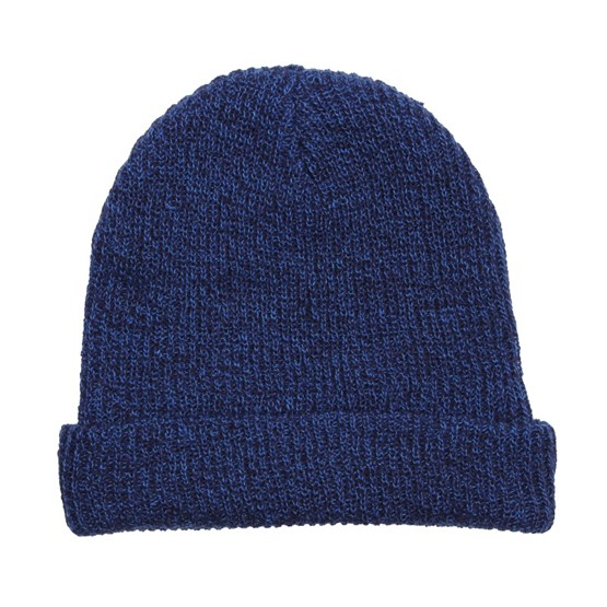 Fold Heather Navy Blue Beanie - Neff beanies  07aef06ed55