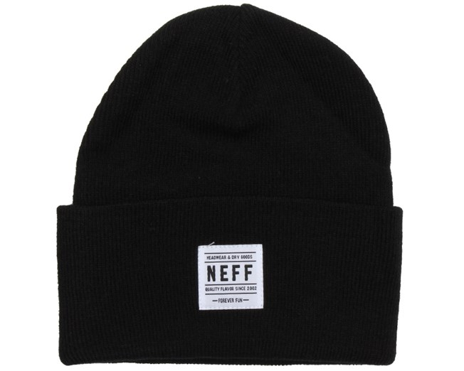 Lawrence Black Beanie - Neff