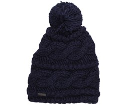 Brain & Beauty Bleu Encre Beanie - Billabong