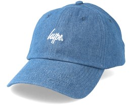 Denim Dad Hat Blue Adjustable - Hype