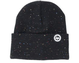 Speckle Dot Black/Multi Beanie - Hype