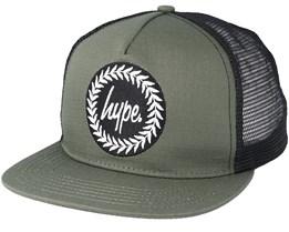 Crest Khaki/Black Trucker - Hype