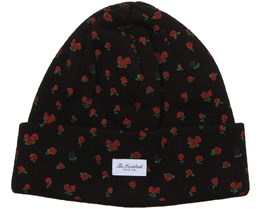 Rose Black Beanie - The Hundreds