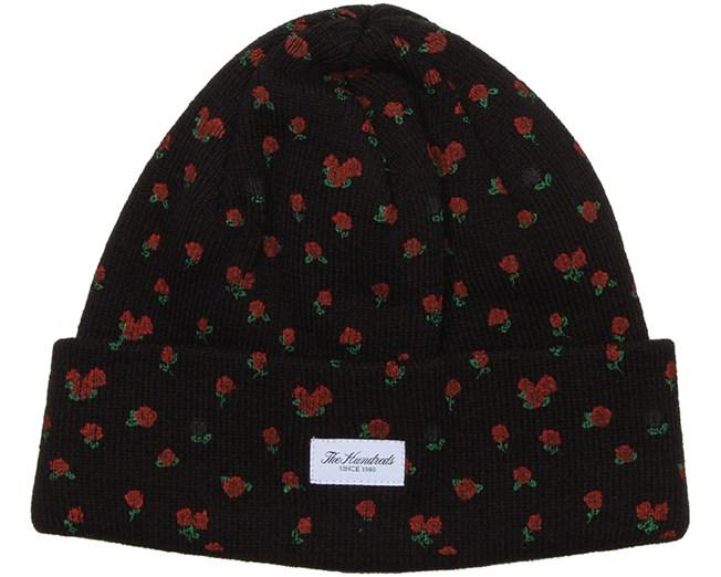 Rose Black Beanie - The Hundreds