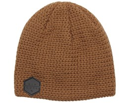 RC Corpo Tobacco Brown Beanie - Rip Curl