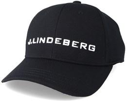 Aiden Pro Poly Black Adjustable - J.Lindeberg