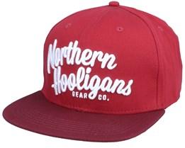 Badge Black Snapback - Northern Hooligans