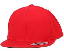 Red Snapback - Yupoong