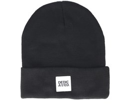 Kiruna Black Beanie - Dedicated