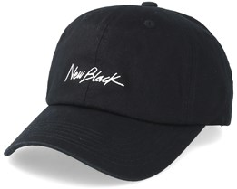 Signature Baseball Cap Black Adjustable - New Black