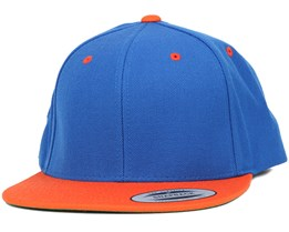 Royal/Orange Snapback - Yupoong