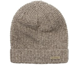 Woman's Lima Wood Grey Beanie - Oakley