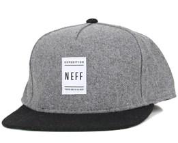Standard Grey Snapback - Neff