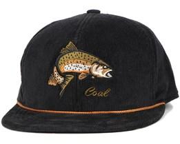 Wilderness Fish Black Snapback - Coal