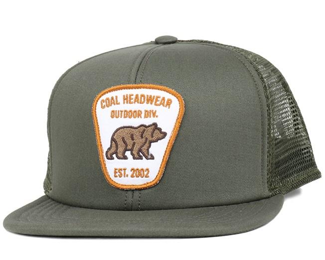 Bureau olive trucker coal caps for Bureau quiksilver