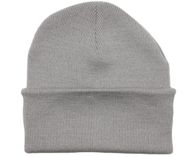 Light Grey Beanie - Beanie Basic