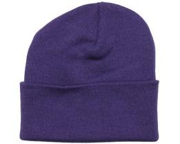 Purple Beanie - Beanie Basic