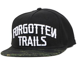 The Woods Black Snapback - Neff
