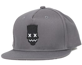Blinky Bart Grey Snapback - Neff