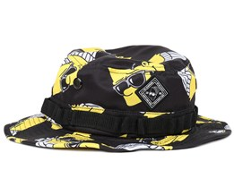 Steezy Bart Boonie Black Bucket - Neff