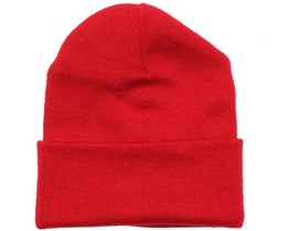 Kids Red Beanie - Beanie Basic