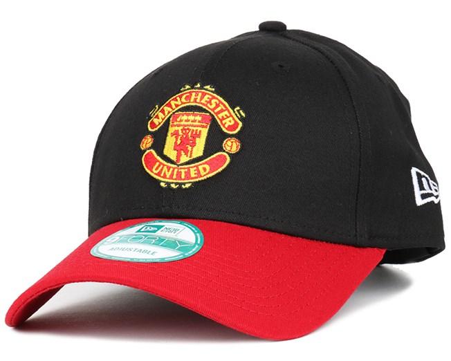 Manchester United Player Black Scarlet 940 Adjustable - New Era caps ... 8163c77b6b
