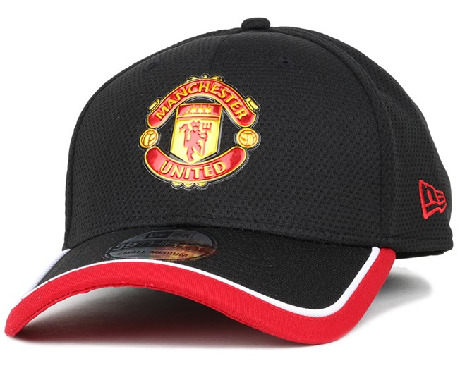 Manchester United Caddy Black/Scarlet 39Thirty Flexfit - New Era