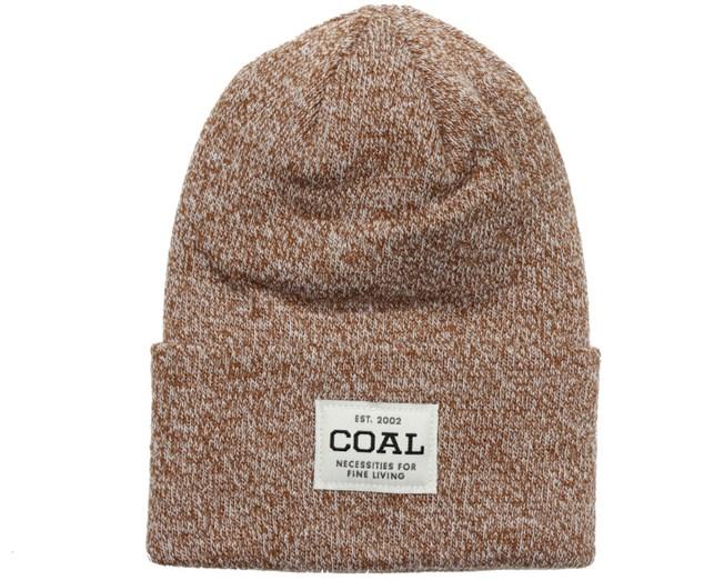 Uniform Light Brown/Maroon Beanie - Coal