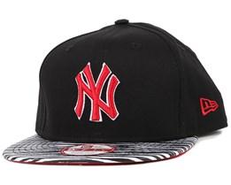 NY Yankees Team Zebra Black/White 9Fifty Snapback - New Era