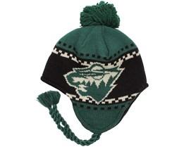 Minnesota Wild Faceoff Tassle Knit - Reebok