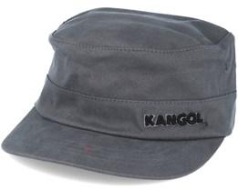 Cotton Twill Army Grey Flexfit - Kangol