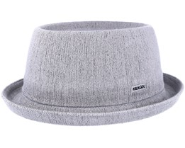 Bamboo Mowbray Grey Porkpie - Kangol