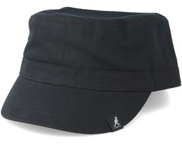 Cotton Adjustable Black Army - Kangol