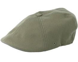 Wool Loden Green Flat Cap - Kangol