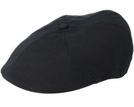 Championship 504 Black Flatcap - Kangol