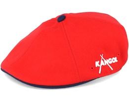Championschip Red/Navy Flat Cap - Kangol