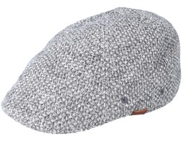Pattern Flexfit Check Grey Flatcap - Kangol