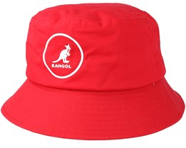 Cotton Rojo Red Bucket - Kangol