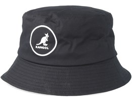 Cotton Black Bucket - Kangol