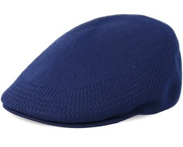 Tropic 507 Ventair Navy Flat Cap - Kangol