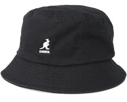Washed Black Bucket - Kangol