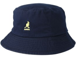Washed Navy Bucket - Kangol