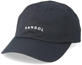 Vintage Baseball Cap Black Adjustable - Kangol
