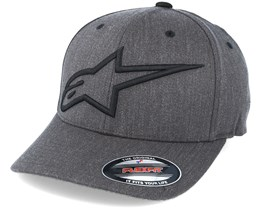 Topper Curve Charcoal Heather Grey Flexfit - Alpinestars