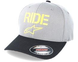 Ride Curve Charcoal Grey Flexfit - Alpinestars