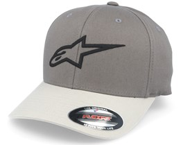 Ageless Curve Charcoal Grey Flexfit - Alpinestars