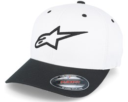 Ageless Curve White/Black Flexfit - Alpinestars