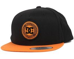 Stapler Black/Tangerine Snapback - DC