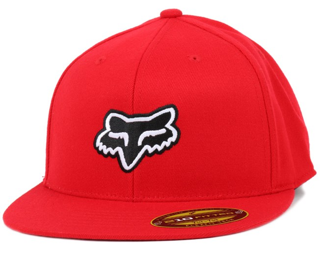 The Steez Red 410 Fitted - Fox